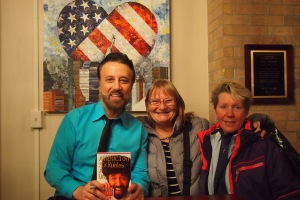 Alice and I with Yakov Smirnoff, what a treat