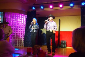 Gordie and Debbie doing George Strait