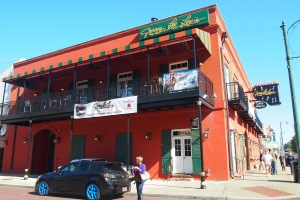 The Jerry Lee Lewis Cafe/bar on Beale Street