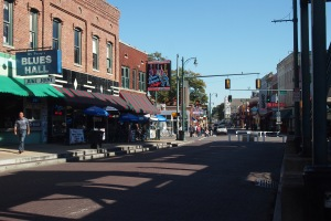 Beale Street in daylight