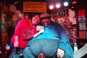 Meeting Big Al Carson New Orleans