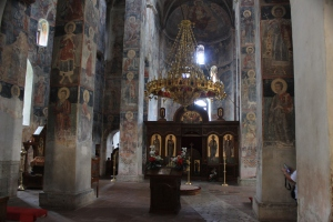 Inside the Novo Hopova church