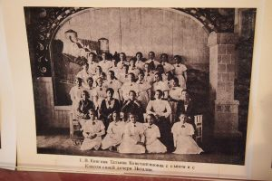 Another photo where Mum might be as she was in the same class as the princess.