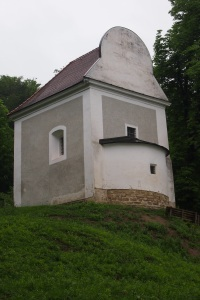 The tiny, now unused, St Nicholas chapel.