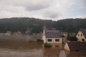 2013 European floods between Prague and Dresden