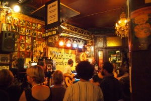 The awesome jazz bar, a rocking place for a night out.