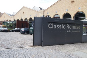 Entrance to the amazing Classic Remise