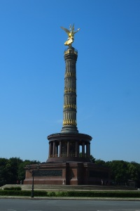The Victory Column at the Grosse Stern intersection.