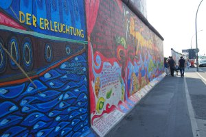 Part of the East Side Gallery