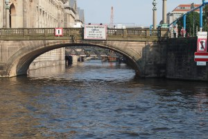 Bridges on the Spree.