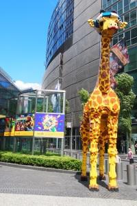 Lego giraffe.