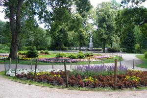 Part of a floral section of the Tiergarten