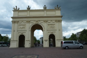Brandenburg Gate Potsdam from the city side