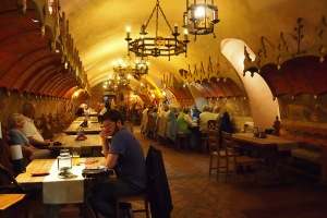 Medieval eating hall