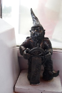 Ship's captain gnome on The Viktoria