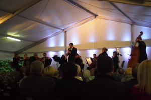 Concert at the Arsenal building