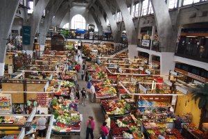 The stunning displays in the Market Hall