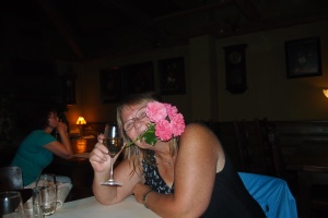 Silliness at the Four Seasons, must have been the wine.