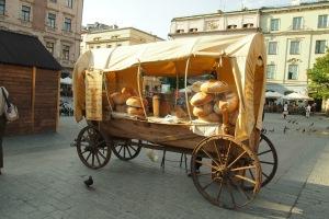 The wonderful bread wagon