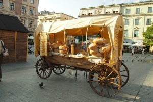 The wonderful bread wagon