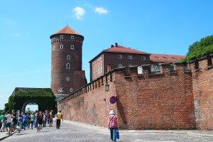 Part of Wawel castle