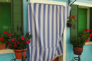 Residents need some privacy on Burano.