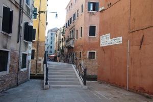 The bridge between Ghetto Nuovo and Ghetto Vecchio