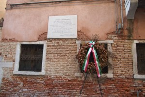 Memorial wreaths in the Jewish Ghetto