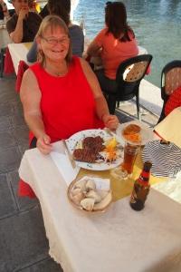 Lunch at Gam Gam kosher restaurant