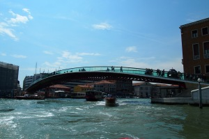The only modern bridge in Venice