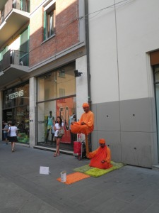 The 'orange men' - how do they do this!?