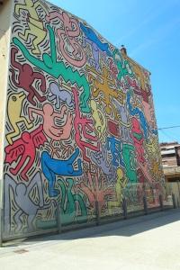 Tuttomondo, Keith Haring 1989