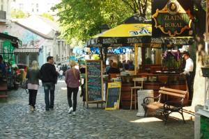 Wandering the Skadarlija cobblestones