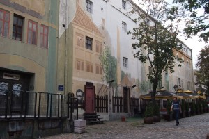 Murals on Skadarlija