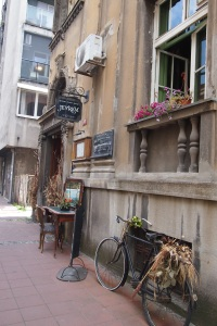 Front of Jevrem restaurant