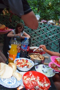 Wonderful salads to accompany the barbecue