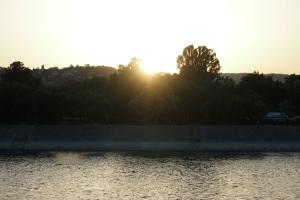 Sunset over Margit