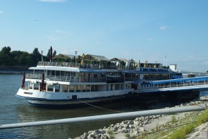 My home for a week on the Danube