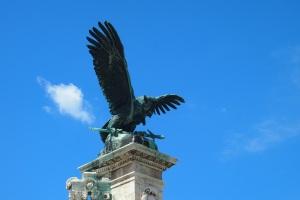 The mythological Turul bird