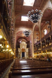 Inside the Great Synagogue Budapest