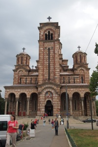 St Marks Serbian Orthodox church.