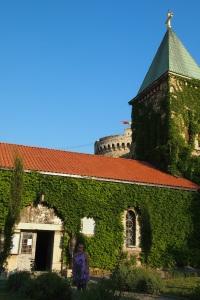Part of the Crkva Ruzica at Kalemegdan