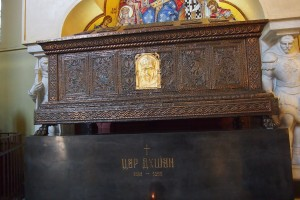 King Dusan's Tomb in St Marks, Belgrade.