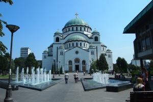 St Sava Cathedral, just stunning!