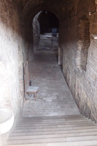 Steps to the Roman Well