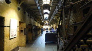 Inside the old gaol