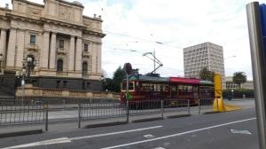The delightful 'talking' tourist tram