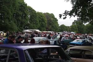 Raggare car show