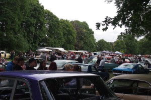 Raggare car show