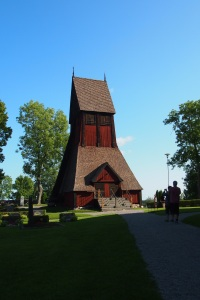 Gamla Uppsala belfry next to the church